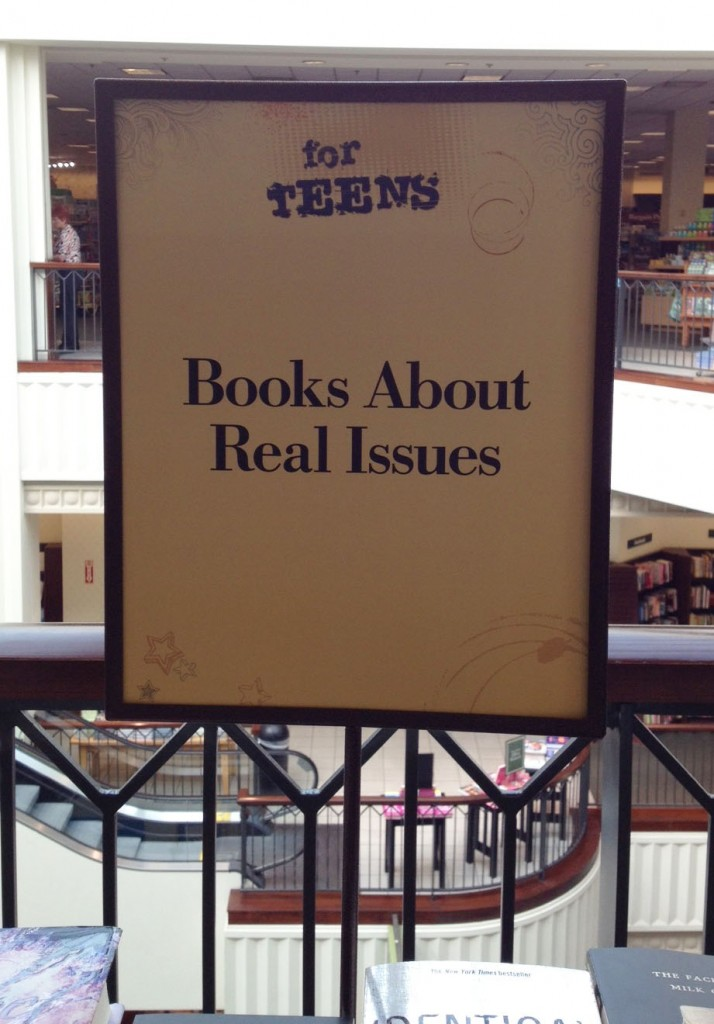 A bookstore gets real. Photo by Vickie Bates.